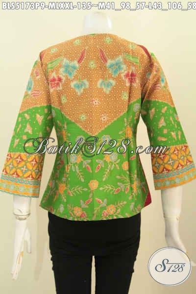 Baju Batik Blus Elegan Dan Modis Produk Busana Batik Masa