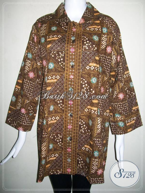 Baju Batik Wanita Ukuran Jumbo Batik Wanita Aktif Dan