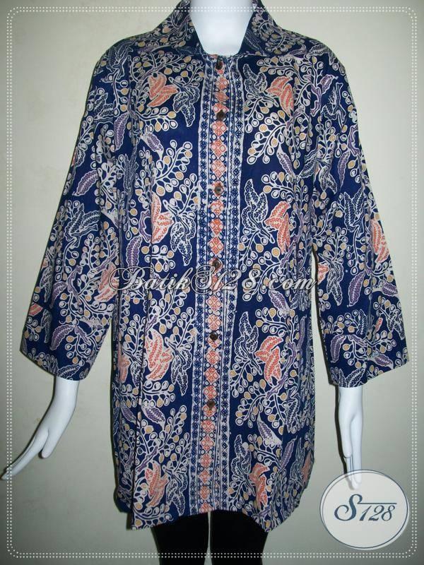 Blus Batik Murah Model Masa Kini Untuk Wanita Aktif