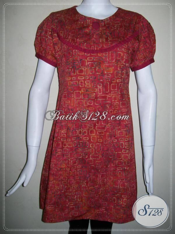 Baju Batik Model Dress Untuk Remaja Masa Kini Batik Warna