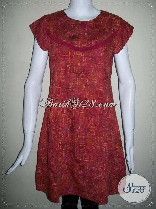 Dress Batik Solo Untuk Wanita Modern Yang Selalu Ingin Tampil