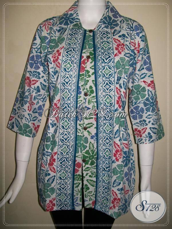 Model Baju BAtik Wanita Modern 365fef1b12