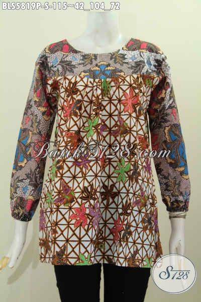 Baju Batik Wanita Lengan Panjang Hadir Dengan Desain