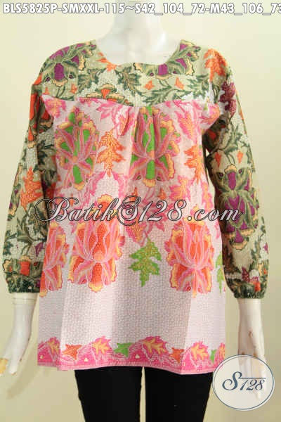 Sedia Busana Batik Nan Trendy Baju Batik Tanpa Kerah