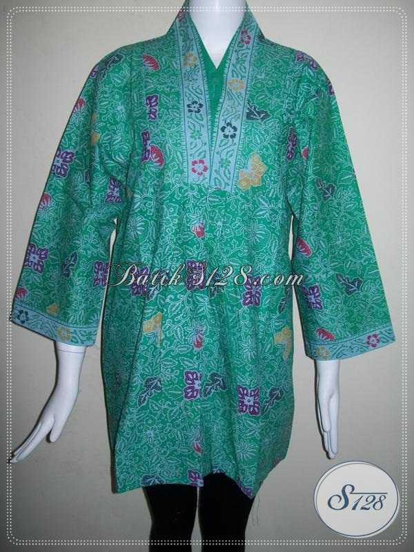 Baju Batik Wanita Kerja Kantor,Toko Online Murah Baju Batik Unik [BLS584CL-XL]
