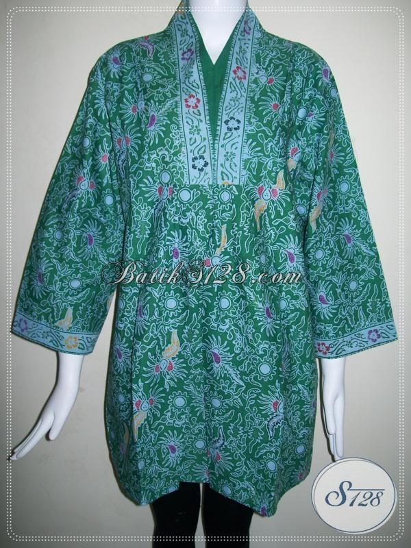 Blus Batik Kerja Wanita Elegan Baju Batik Model Terkini