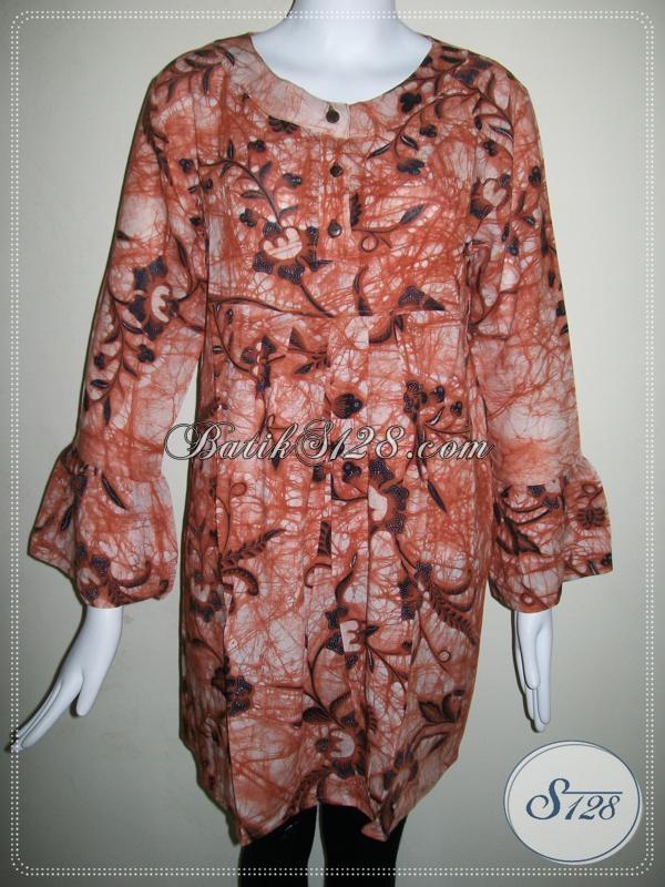 Toko Online Batik Untuk Wanita Pegawai Bank [BLS596BTPR-L]