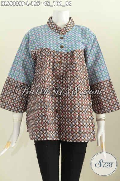 Model Baju Batik Santai untuk wanita modern