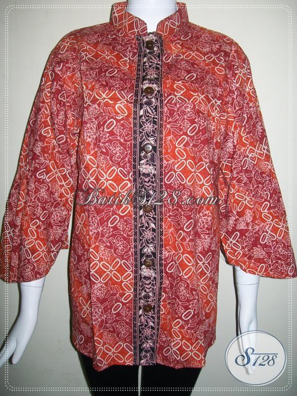 Baju Batik Ukuran Jumbo Untuk Wanita Gemuk BLS617CGXXL  Toko