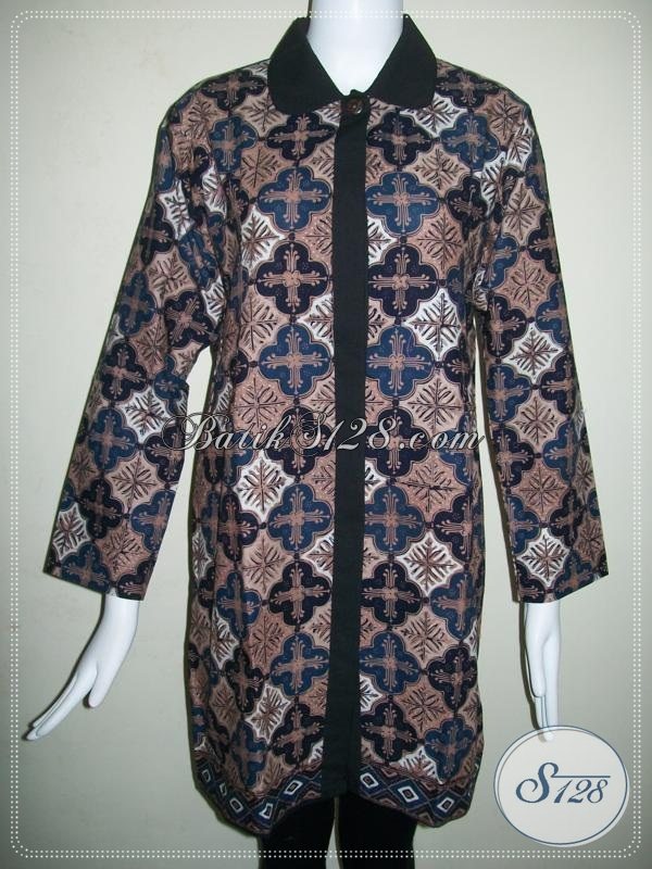 Baju Batik Lengan Panjang Wanita Bertubuh Tinggi Bls625ct Baju