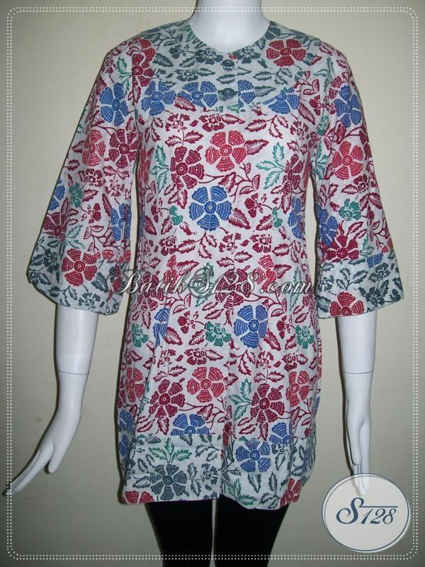 Batik Wanita Motif Floral [BLS631CB]