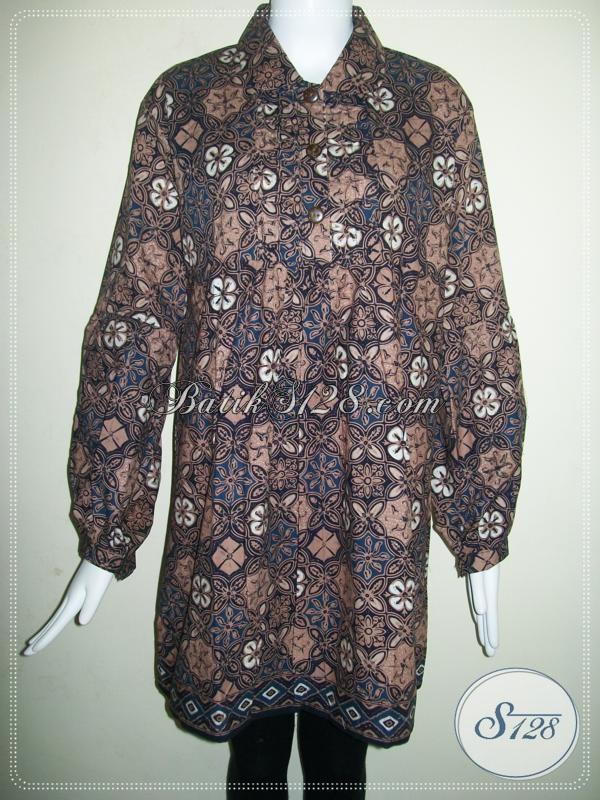 Baju Batik Cewek Jumbo Super Besar Big Size Ukuran Xxl