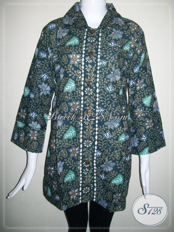 Pakaian BAtik Cantik Wanita Modern [BLS661CT]