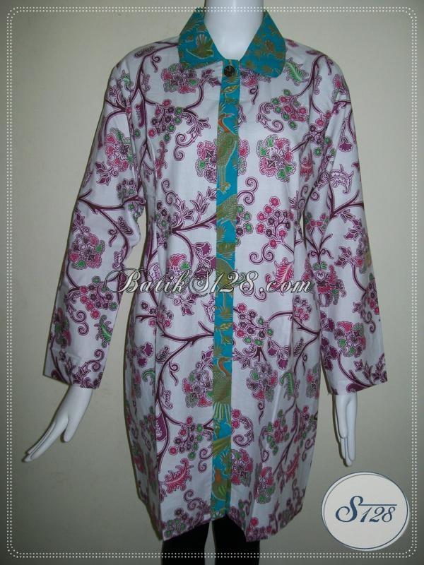 Baju BAtik Untuk Wanita Berjilbab [BLS683P-L]