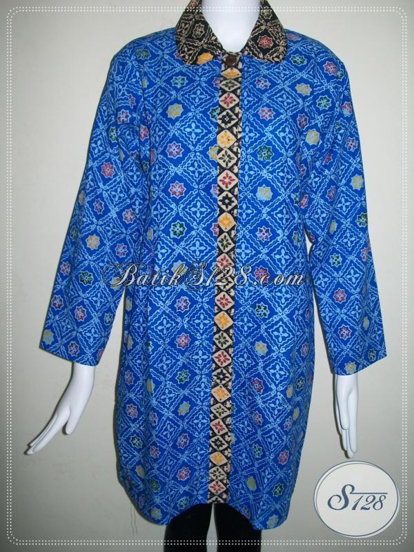 Toko Aneka Model Baju Batik Wanita,Harga Murah Untuk Batik Solo [BLS684CT-L]