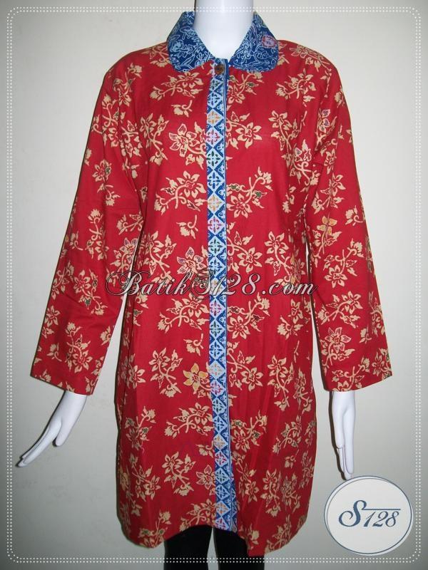 Baju Batik Masa Kini Dan Modern Trend Batik Unik 2014