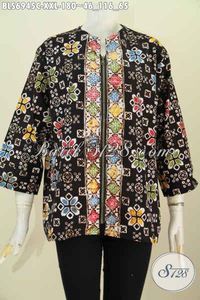 Gambar Model Baju Batik Kerja Wanita Terbaru Hadir Dengan Desain