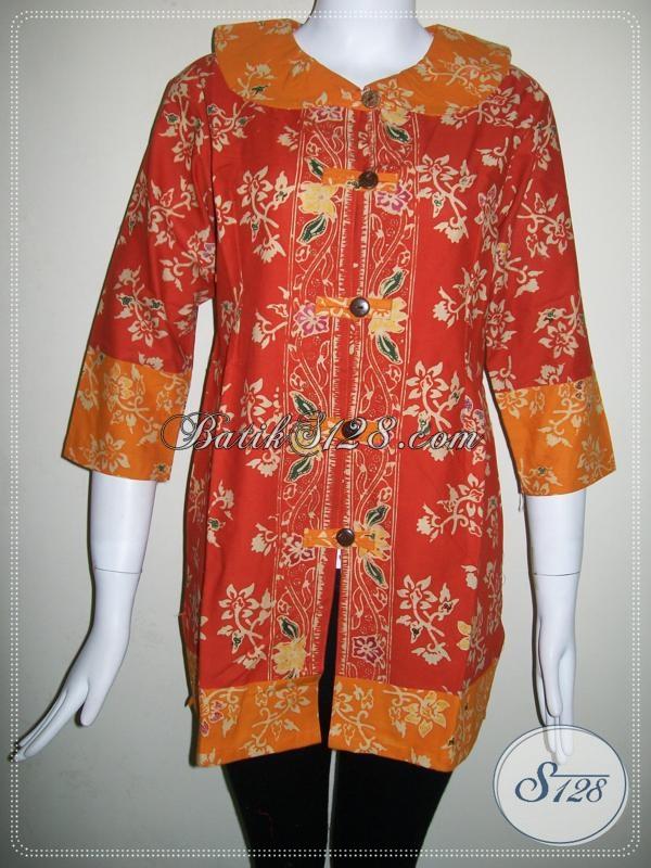 Baju Batik Wanita Kombinasi Warna [BLS694CT-ML]