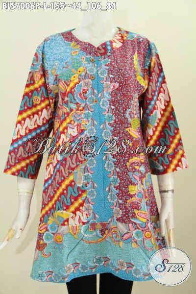 Model Baju Batik Wanita Kerja Modern 2017 b1954e78ce