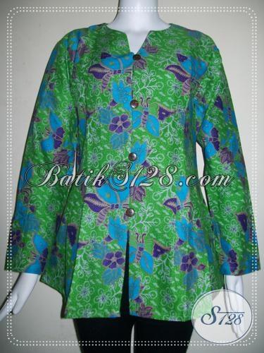 Busana BAtik Wanita Terkini Asli Batik Solo [BLS707P-M]
