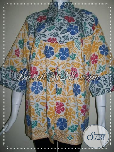 Baju Batik Untuk Wanita Trendy Dan Aktif [BLS711C-XL]
