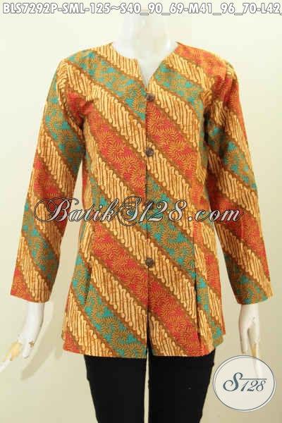 Model Baju Batik Wanita Terbaru 2018 - Baju Batik 7d9c01f5fb