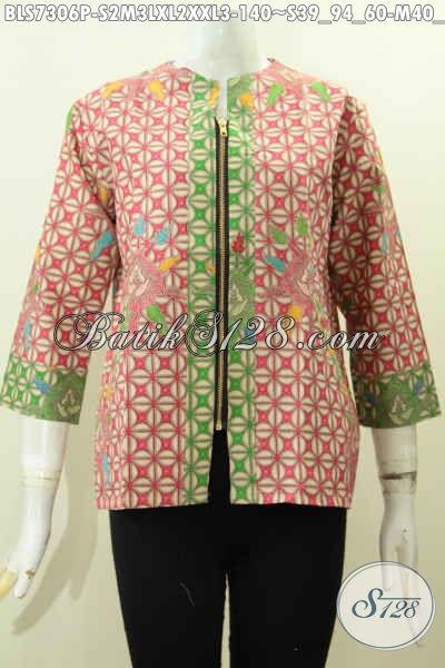 Model Baju Atasan Batik Wanita Untuk Kerja Tercantik - Toko Batik ... e13c7cf1e5
