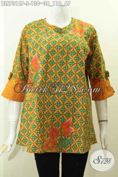 Busana Batik Wanita terkini, batik Printing Halus Buatan Solo