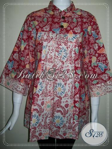 Baju BAtik Wanita Elegan Asli BAtik Solo [BLS742C-L]