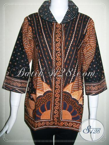 Baju Batik Model Modern Dan Trendy Asli BAtik Jawa [BLS747T-M]