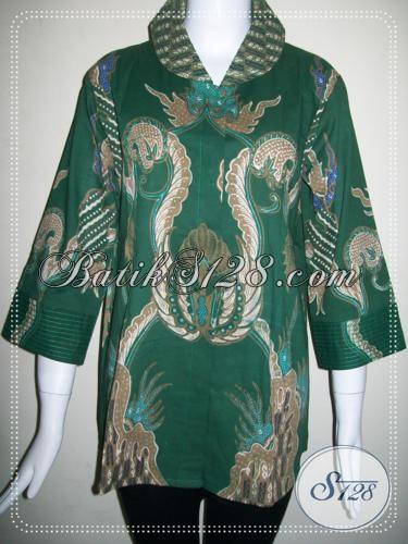 Baju Batik Tulis Wanita Karir [BLS750T-L]