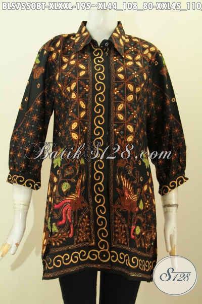 Model Baju Atasan Batik Wanita Modern Tahun 2019 - Toko Batik Online ... f25b9764bc