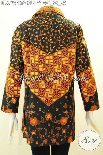 Blus Batik Klasik Wanita Dewasa Baju Batik Atasan Wanita