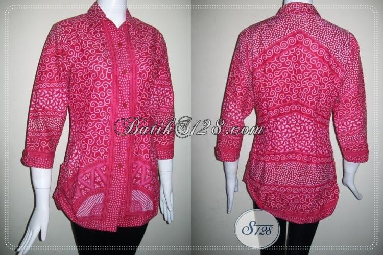 Baju Batik Anak Muda Lengan Tiga Perempat Bls766p S