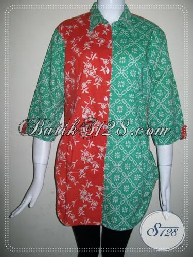 Batik Trendy Untuk Wanita Karir [BLS772C-L]