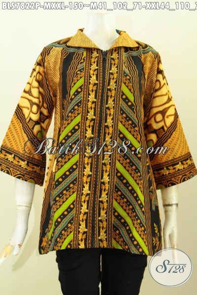 Model Baju Batik Atasan Wanita Modern 2019 - Toko Batik Online 2019 ... 0a3185a5f9