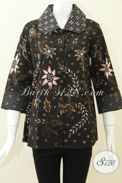 Batik Tulis Untuk Wanita Trendy Dan Aktif [BLS797T-M]