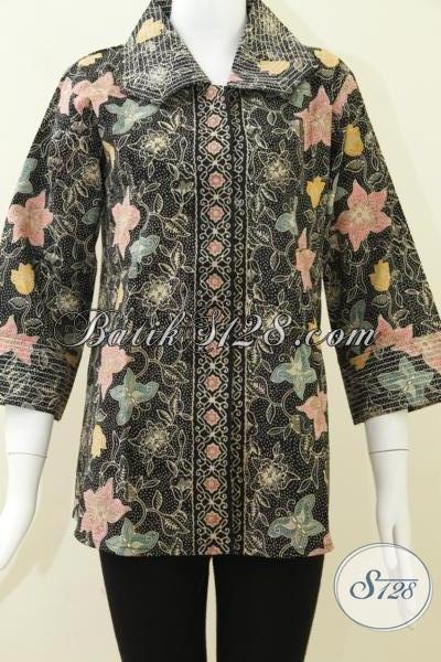 Busana Batik Solo Warna Elegan,Batik Fashionable Asli BAtik Handmade Solo [BLS801CT-L]