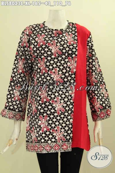 Model Baju Batik Kerja Wanita 2019 1603410c6b