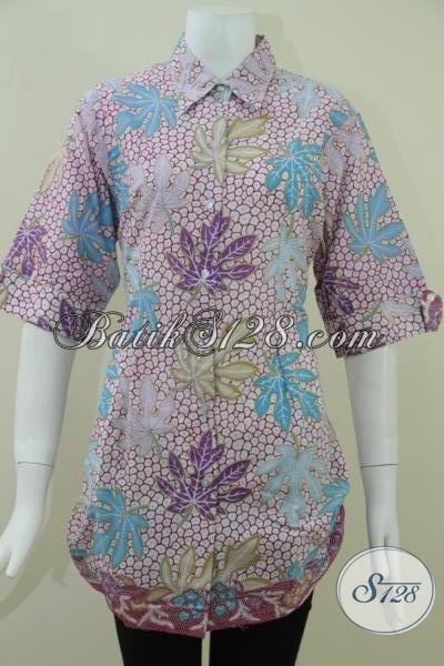 Baju Batik Wanita Model Terkini 2014 Blus Batik Model