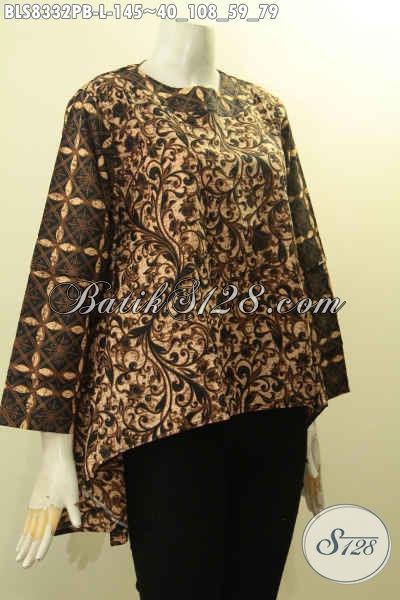 Model Baju Batik Wanita Terbaru Size L Blus Batik Desain