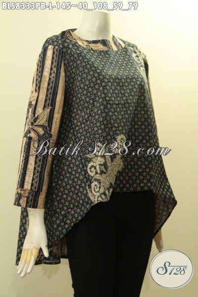 Model Baju Batik Wanita Motif Elegan Berkelas Hadir Dengan Desain