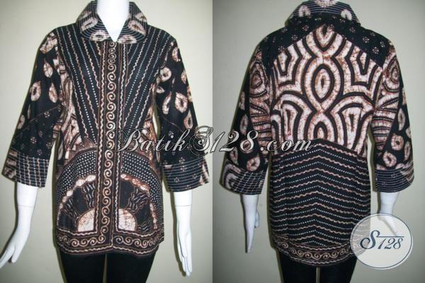 Baju BAtik Tulis Wanita Pejabat,Motif Batik Tulis Terlaris Dan Banyak Disukai [BLS833T]