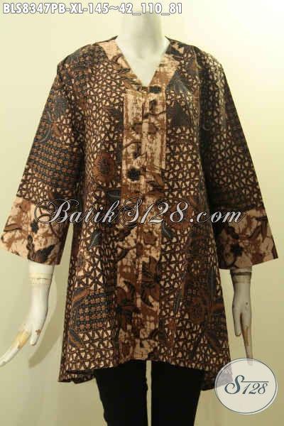 Model Baju Batik Atasan Wanita Terbaru Blus Batik Kartini Nan