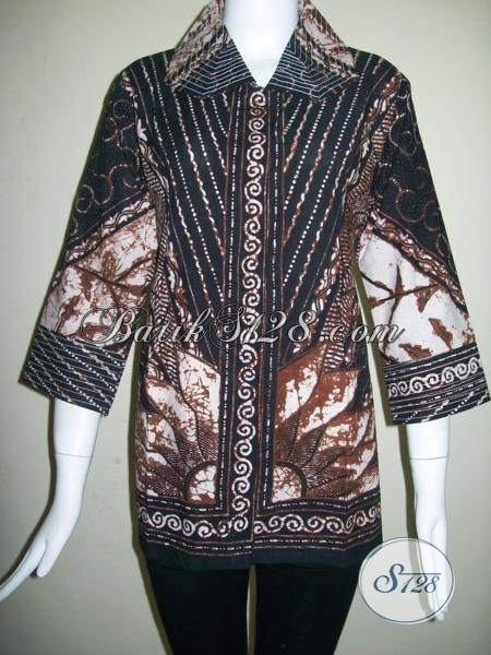 Trend Batik Tulis Motif Matahari, BAtik Tulis Berkwalitas Dan Terkini [BLS845T-M]