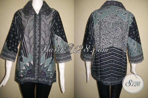 Batik Tulis Online Asli Batik Tulis Jawa,Motif Batik Tulis Matahari Untuk Busana Batik Wanita Pejabat [BLS846T-M]
