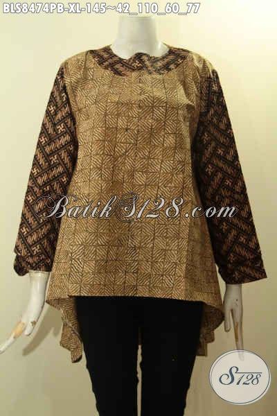 Produk Busana Batik Wanita Terbaru Blouse Batik Modern