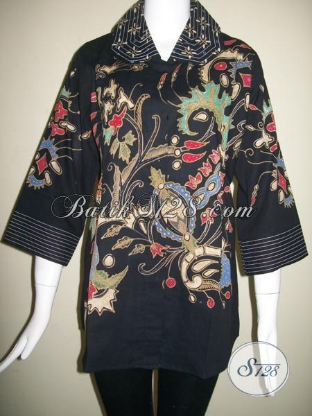Pakaian Batik Wanita Modern Baju Batik Kerja Wanita Baju