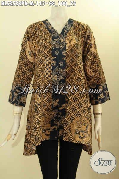 Model Baju Batik Kartini Kancing Depan Ukuran M, Busana Batik Wanita Muda Yang Ingin Penampilannya Terlihat Elegan Berkelas Dengan Harga Terjangkau