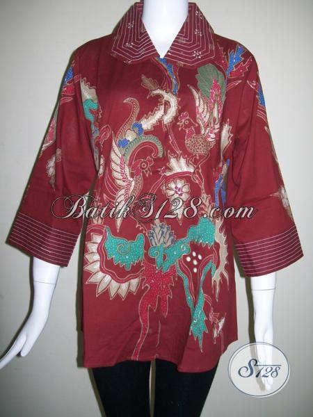 Design Baju Batik Wanita Model Modern b4a9628287